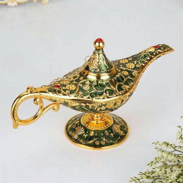 ماکت تزئینی برنزی مدل چراغ جادو